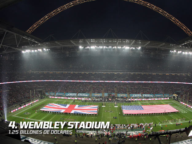 4 Wembley Stadium