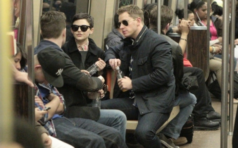 Ginnifer Goodwin y su novio Josh Dallas