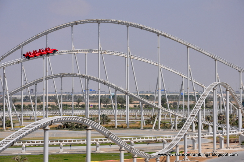 how tall is formula rossa