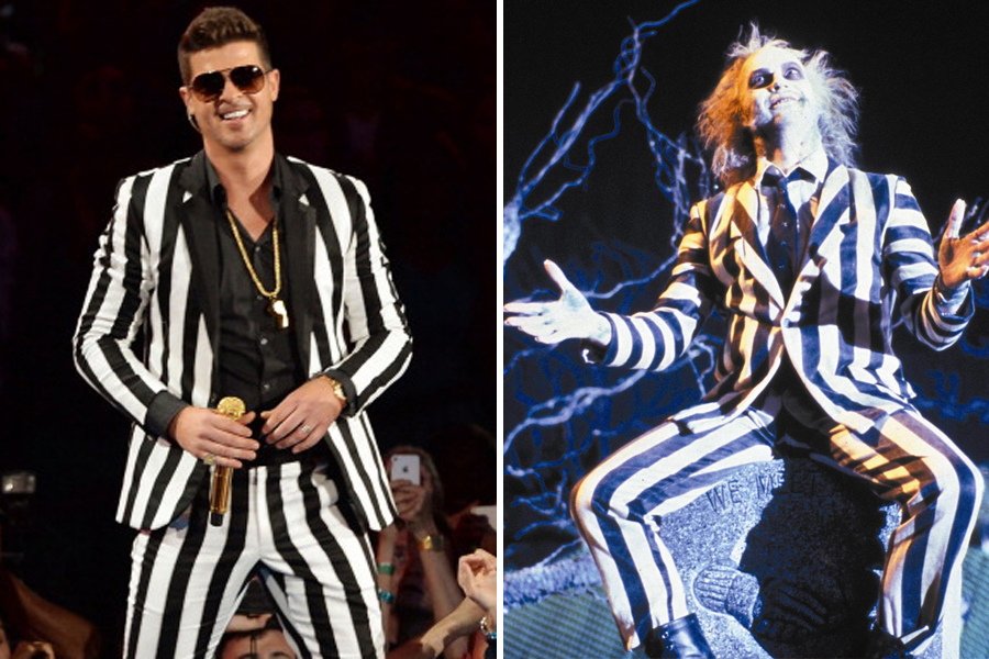 Robin-Thicke or Beetlejuice