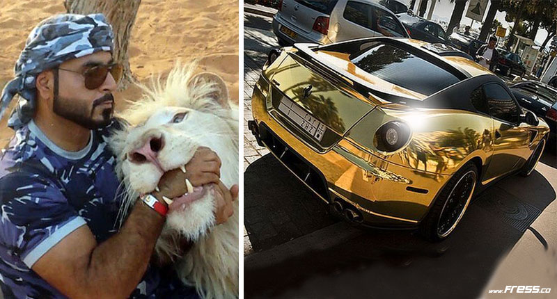 44 Photos Eccentricities of Billionaires in United Arab Emirates