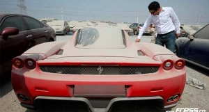 15 Luxury Cars Abandoned in Dubai